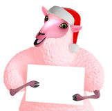Pink sheep Stock Images