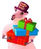 Pink sheep Royalty Free Stock Photography