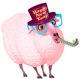 Pink sheep Royalty Free Stock Photography