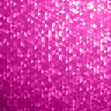 Pink shimmer sequins mosaic background Stock Photography