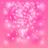 Pink shining background Royalty Free Stock Image