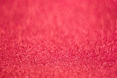 Pink shining lights sparkling glittering romantic backdrop blurred background.  royalty free stock photo