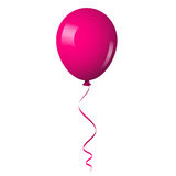 Pink shiny balloon Royalty Free Stock Photography