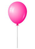 Pink shiny balloon Stock Images