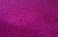 Pink shiny Christmas lights. royalty free stock images