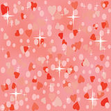 Pink shiny seamless background Stock Photos