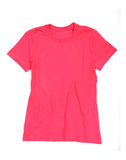 Pink shirt Stock Images
