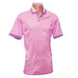 Pink shirt Stock Photography