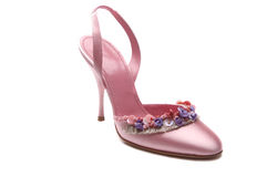 Pink shoe Royalty Free Stock Photo