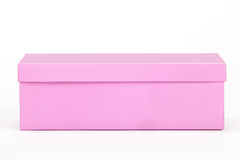 Pink shoe-box Stock Photo