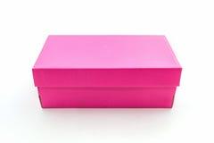 Pink shoe box Stock Photo