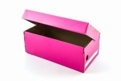 Pink shoe box. Stock Photography