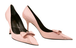 Pink shoes Stock Photos