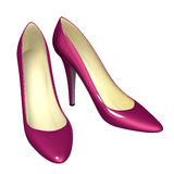 Pink shoes Royalty Free Stock Photography