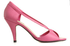 Pink shoes Royalty Free Stock Photos