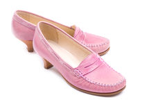 Pink shoes Royalty Free Stock Photo