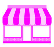 Pink Shop Icon Stock Images