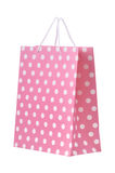 Pink shopping bag Stock Photo