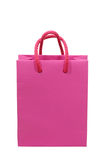 Pink shopping bag Royalty Free Stock Images