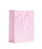 Pink shopping bag Royalty Free Stock Photos