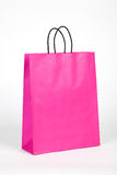 Pink shopping bag. Royalty Free Stock Image