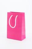 Pink shopping bag Royalty Free Stock Photo