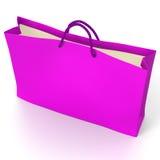 Pink shopping bag. Stock Photography
