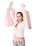 Pink shopping. Stock Photography