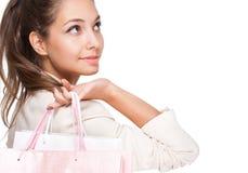 Pink shopping. Stock Photo