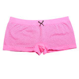 Pink shorts isolated on white Royalty Free Stock Image