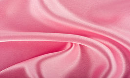 Pink silk royalty free stock photography