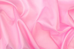 Pink silk. Abstract pink silk background material Stock Images