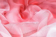 Pink silk Royalty Free Stock Images