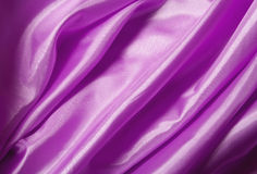 Pink silk fabric Stock Images