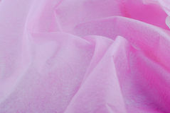 Pink silk fabric Royalty Free Stock Image