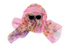 Pink silk scar Royalty Free Stock Image