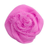 Pink silk scarf Stock Photography