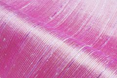 Pink silk Woven fabric. Texture , background royalty free stock photo