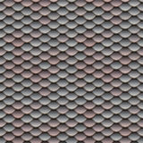 Pink and Silver Scales Seamless Pattern Royalty Free Stock Photo