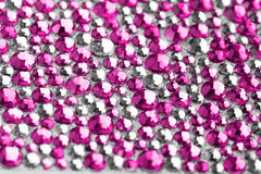 Pink and silver texture Royalty Free Stock Photography