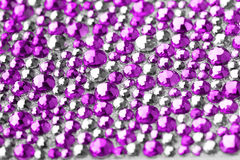 Pink and silver texture Stock Image