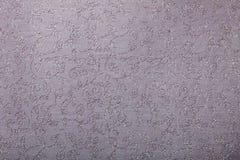 Pink silver  twirls pattern handmade art paper Stock Image