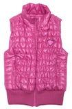 Pink ski vest Stock Photo