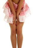 Pink skirt Stock Image