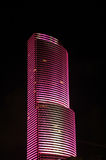 Pink Skyscraper in Miami Stock Photos