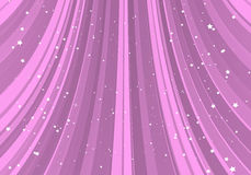 Pink slide with stars stock image