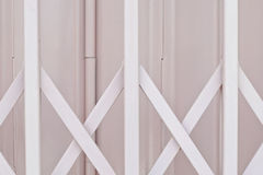 Pink sliding door Stock Image