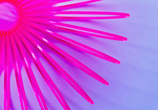 Pink Slinky Royalty Free Stock Photos