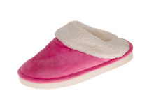 Pink slipper Stock Images