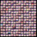 Pink smalt texture. Little squares Stock Photo